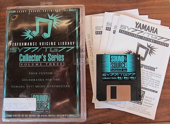 Sound Source SY77 Sounds