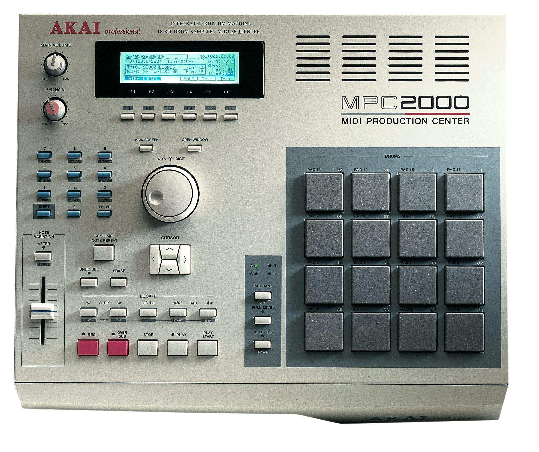 Akai Mpc2000 (midi Production Center)