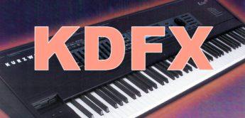 Test: Kurzweil KDFX Effektboard für K2500, K2600