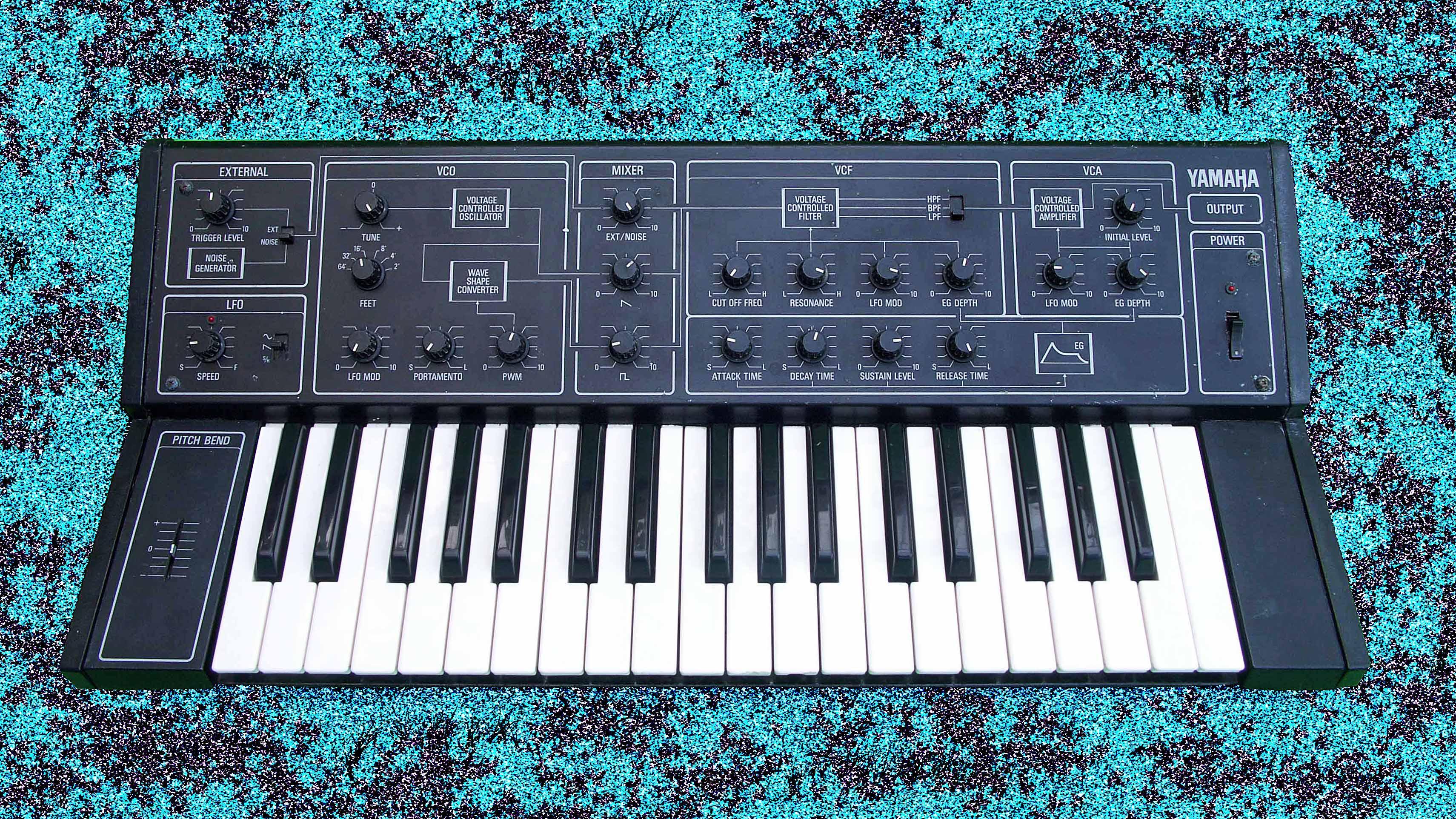 Yamaha Cs Analog Synthesizer