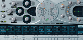 Test: Apple Logic Pro X ES2 Software-Synthesizer