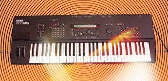 Green Box: Yamaha SY85, TG500 Synthesizer