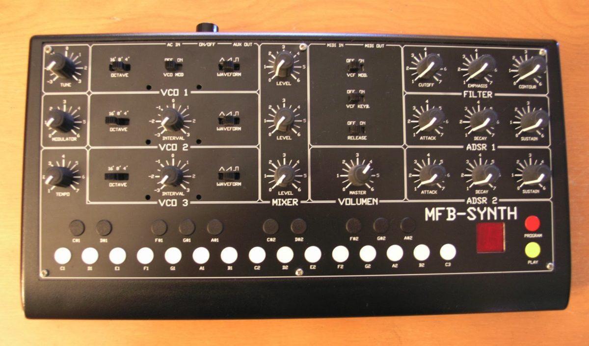 MFB-Synth - der Wiedereinstieg in die Musikbranche