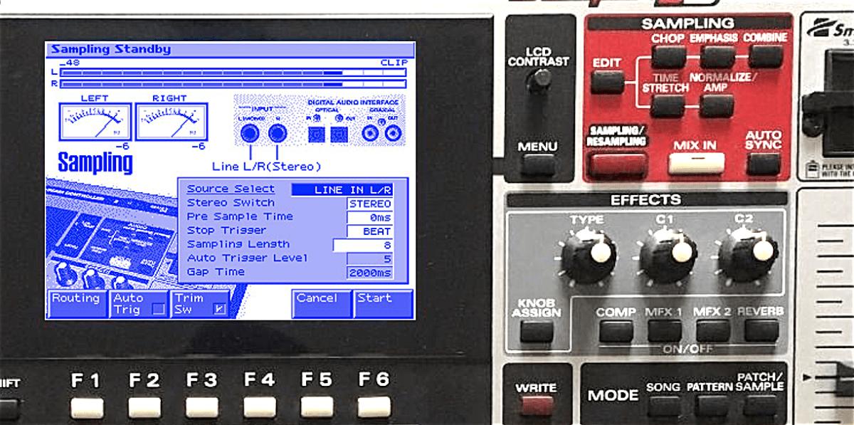 mc-909-sampling