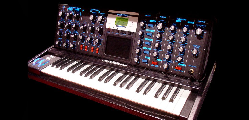 Moog Voyager Electric Blue