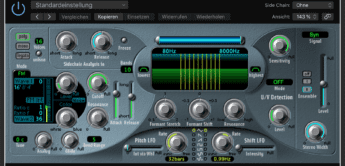 Test: Apple Logic EVOC 20 Filterbank & Vocoder