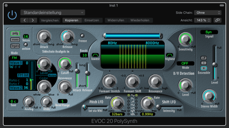 Test: Apple Logic EVOC 20 Polysynthesizer