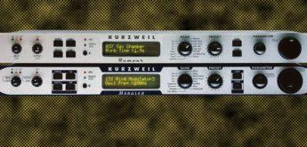 Zeitmaschine: Kurzweil Rumour, Mangler und KSP-8 Effektgeräte