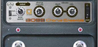 Test: Roland CE-1 Chorus für UAD-1