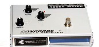 Test: Roger Mayer Concorde + und Vision Wah Pedal, Gitarren-Effektgeräte