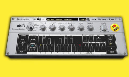 Test: Audiorealism abl3 und Pro, TB-303 Synthesizer