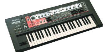 Test: Roland SH-201, VA-Synthesizer