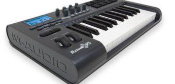 Test: M-Audio Axiom USB Controller