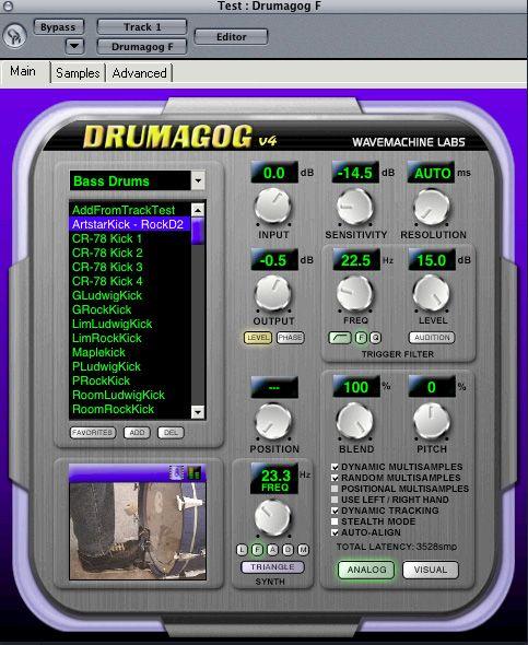 Test: Wavemachine Labs Drumagog 4.07 - AMAZONA.de