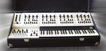 Blue Box: Oberheim Four Voice, Analogsynthesizer