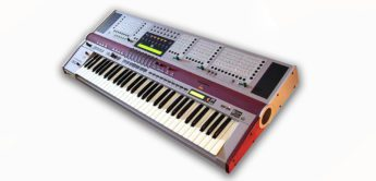 Velvet Box: Hohner ADAM Synthesizer & E-Orgel