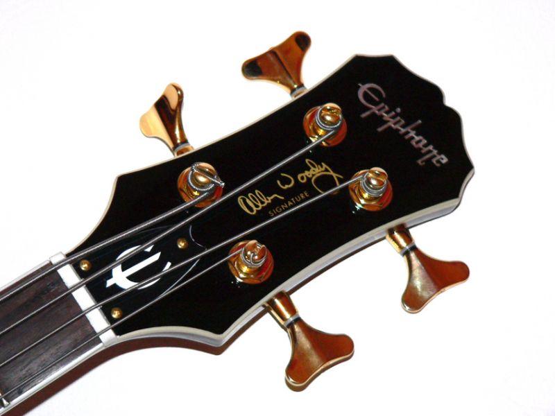 Test: Epiphone, Allen Woody Rumblekat Bass, E-Bass - AMAZONA.de