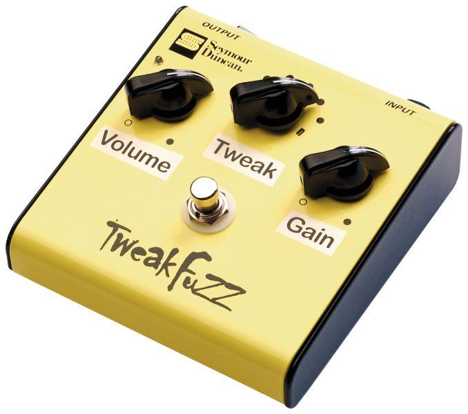 Test: Seymour Duncan, Tweak Fuzz, Verzerrerpedal für Gitarre ...