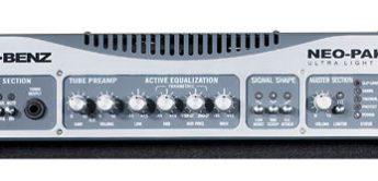 Test: Genz Benz, NEO-PAK 3.5, NEOX 210T und NEOX 212T, Bassverstärker