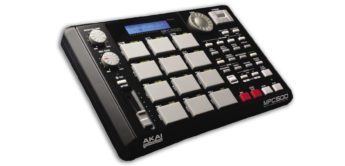 Test: AKAI MPC500 mobile Sample-Groovebox