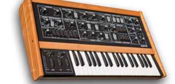 Blue Box: Crumar Spirit, Analogsynthesizer