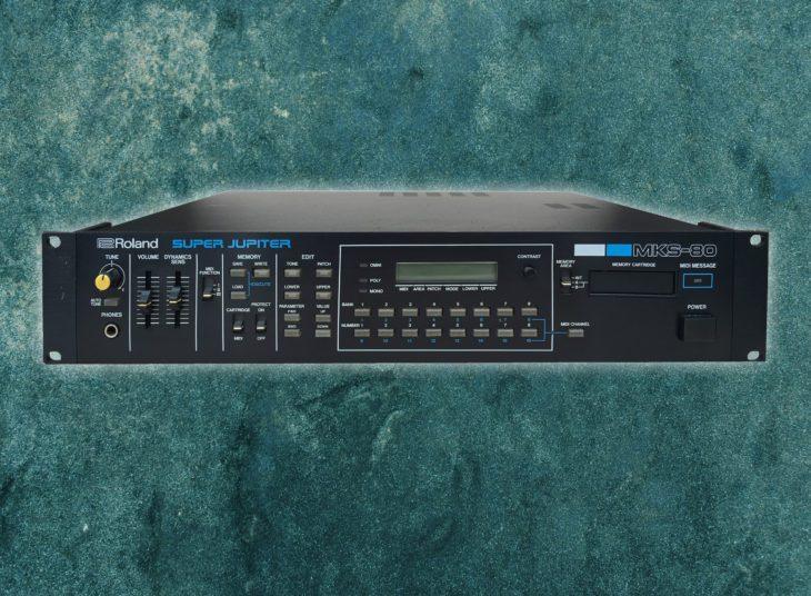 Blue Box: Roland MKS-80 Super Jupiter