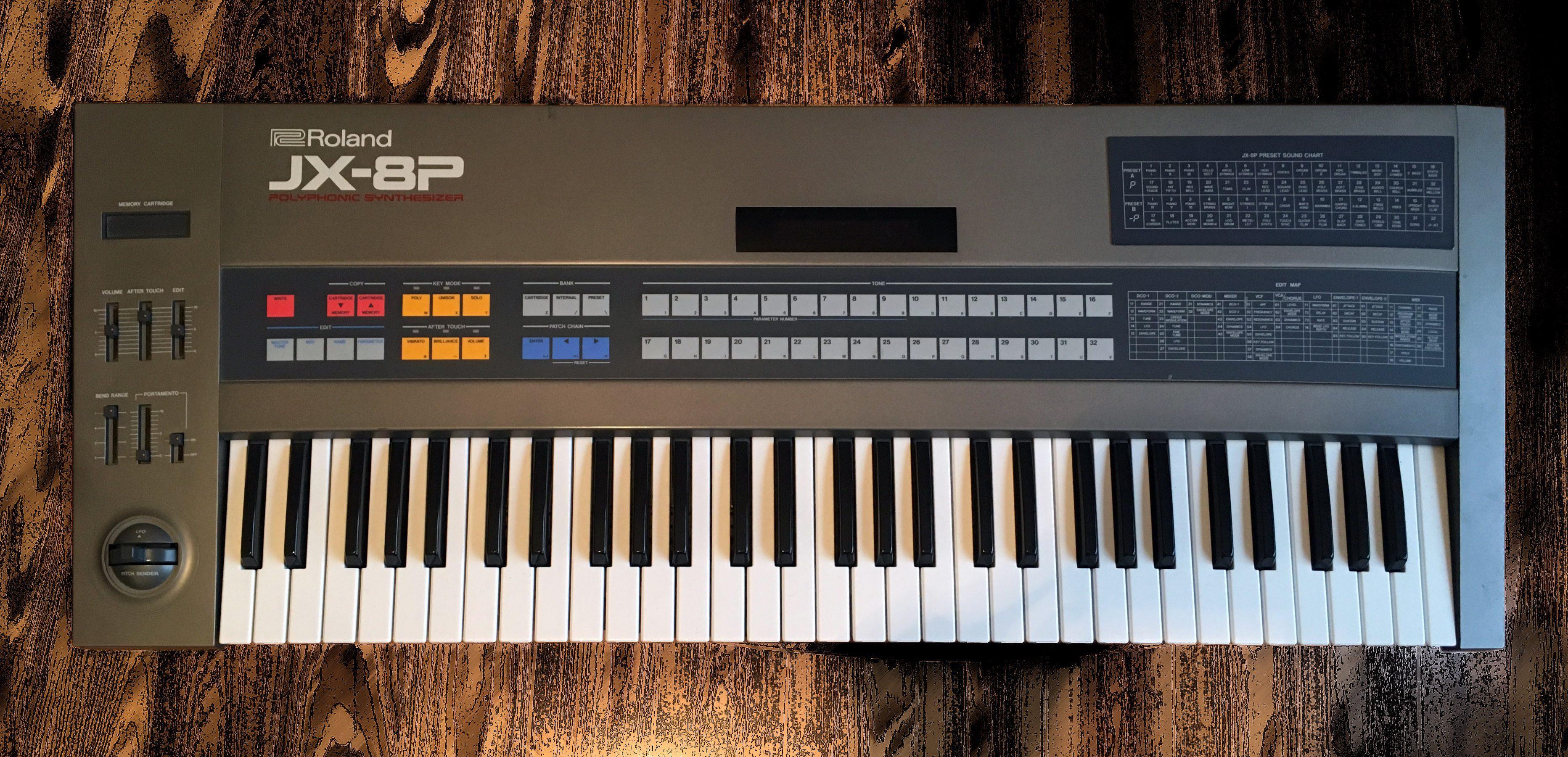 Roland JX-8P mit iPG-800