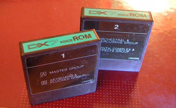 Yamaha DX7 Cartridges Factory