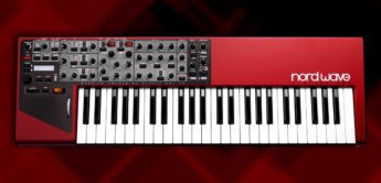 Test: Clavia Nord Wave Synthesizer & Sampleplayer