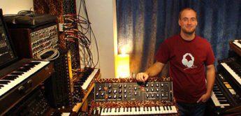 Interview: Theo Bloderer, Vintage-Synthesizer Sammler