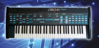 Blue Box: Rhodes Chroma Polaris, Analogsynthesizer