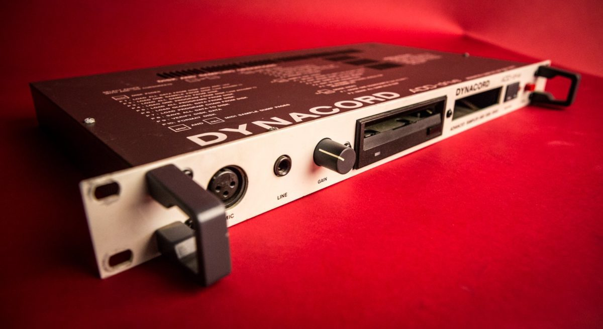ADD-drive mit XLR-Mikrofoneingang für Sampling
