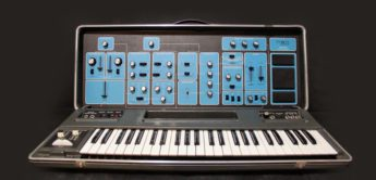 Blue Box: Moog Sonic Six, Analog-Synthesizer