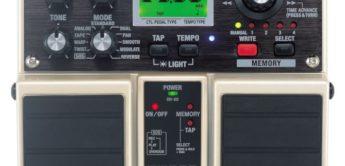 Test: Boss, DD-20 Giga Delay, Gitarren-Effektgerät