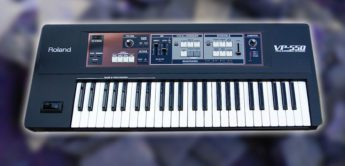 Test: Roland VP-550 Vocoder Synthesizer
