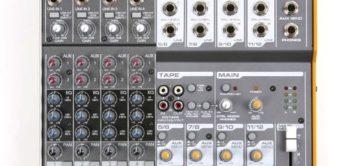 Vergleichstest: Mackie 1202 VLZ3 – Tapco Mix.120