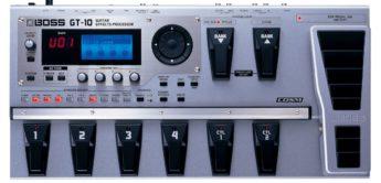 Test: Boss, GT-10, Multieffektgerät für Gitarre