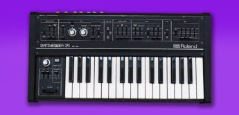 Blue Box: Roland SH-09 Vintage-Synthesizer