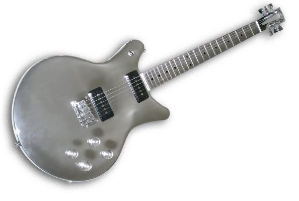 gitarre aus metall. Black Bedroom Furniture Sets. Home Design Ideas
