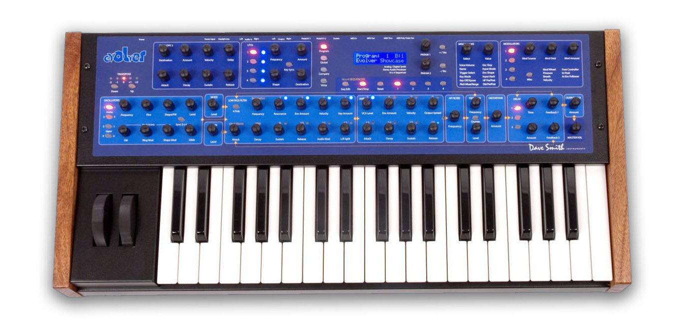 DSI Evolver Keyboard plus Poly-Expander