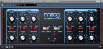 Test: UAD-1 Moog Multimode Filter V 5.1