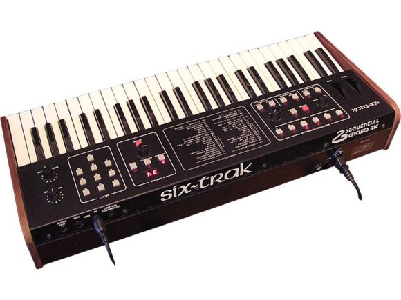 Sequential Six Trak Synthesizer