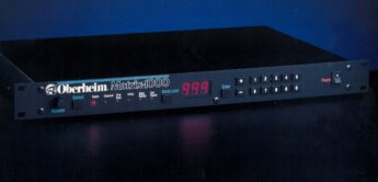 Blue Box: Oberheim Matrix-1000 Analogsynthesizer