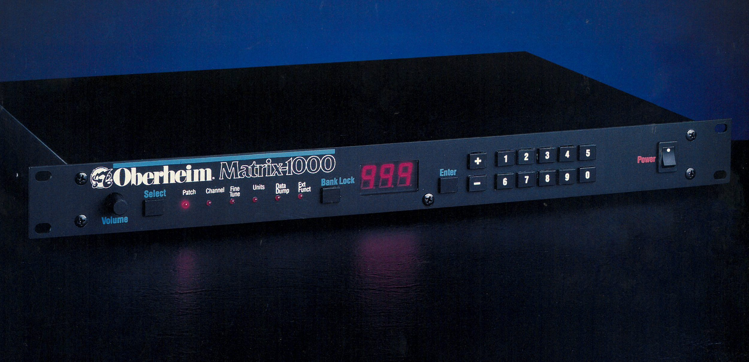 Oberheim Matrix 1000 + Access Programmer