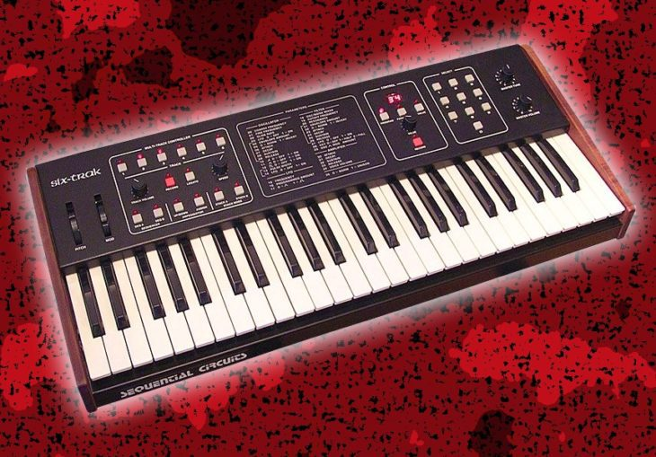 Sequential Six-Trak Analogsynthesizer (1984)