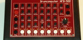 Test: MFB-522, Analog-Drumcomputer