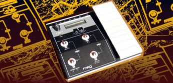 Test: MOOG MP-201, CV/Gate-Midi Control Pedal