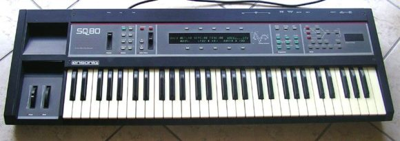 Der Ensoniq SQ-80 Cross Wave Synthesizer