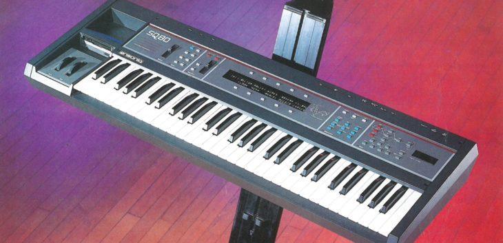 ensoniq sq-80 keyboard synthesizer