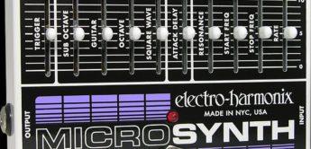 Test: Electro-Harmonix, Analog Guitar Micro Synthesizer, Synthesizer für E-Gitarre